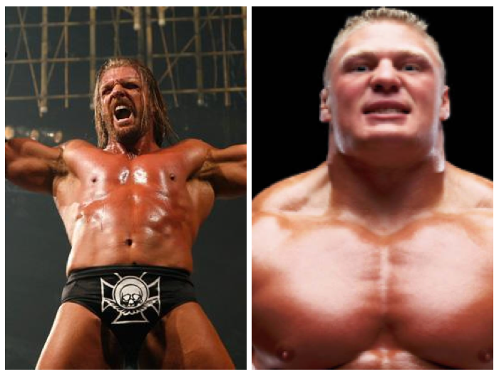 Triple H vs. Brock Lesnar
