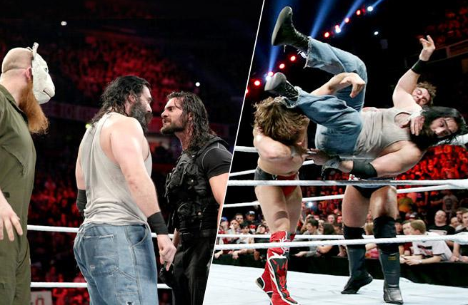 shield vs. the wyatt family