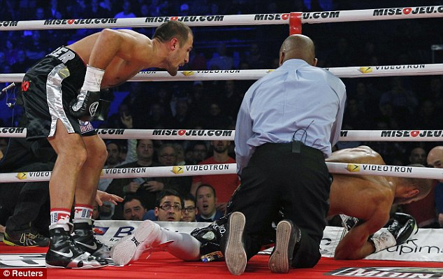 Kovalev knocks out Sillakh