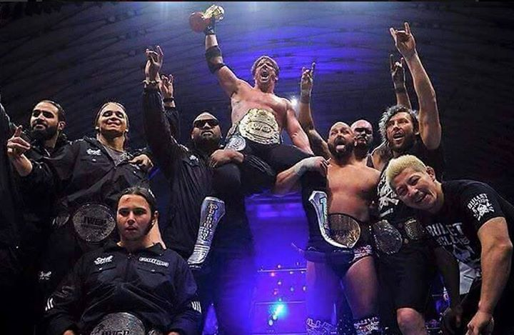 AJ Styles is the new IWGP champion