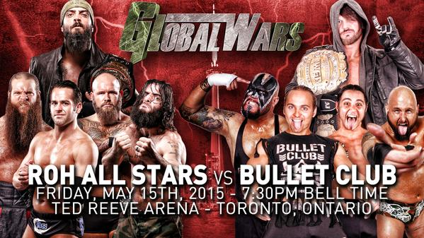 Global Wars Night 1