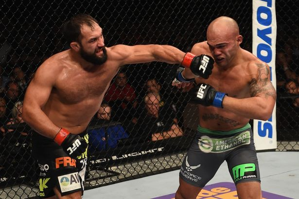 Hendricks vs Lawler 2
