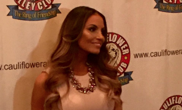 Trish Stratus is the first